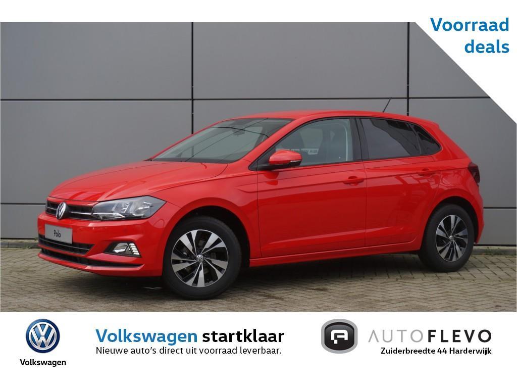Volkswagen Polo 1.0 tsi comfortline / voorraad voordeel! / navi / adap. cruise / pdc / 15'' lmv