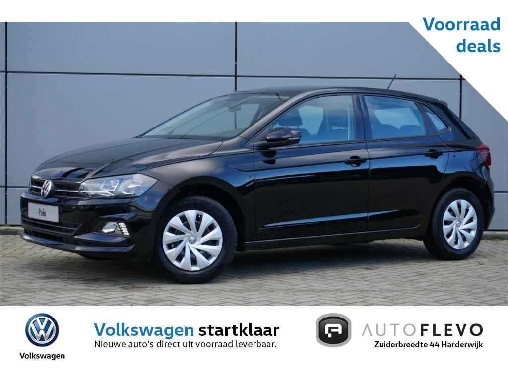 Volkswagen Polo 1.0 mpi comfortline 75pk / €1300,- voorraad voordeel / connectivity pakket / pre crash / airco
