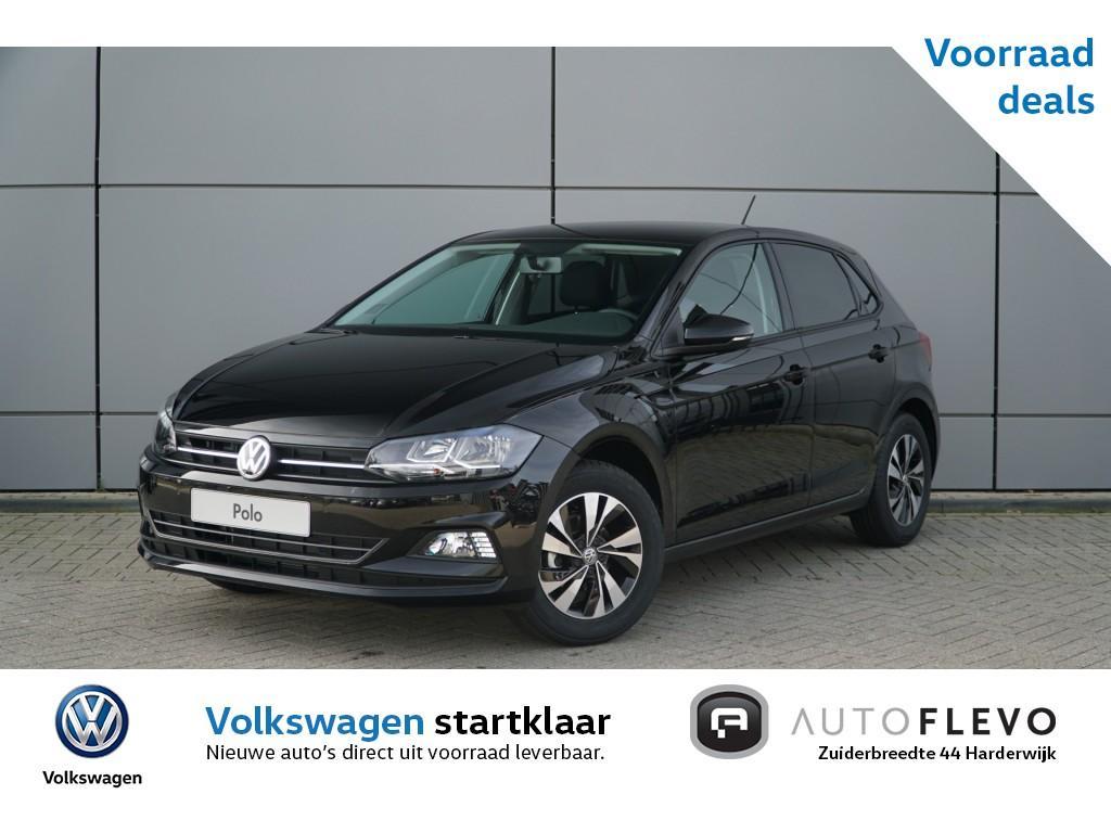 Volkswagen Polo 1.0 tsi 95pk comfortline / €1300,- voorraad voordeel / navi / dab+ / 15'' lmv / privacy glass / adap. cruise
