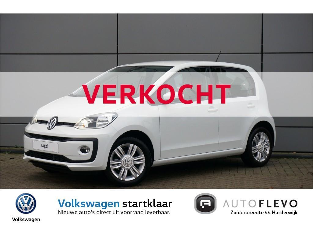 Volkswagen Up! 1.0 bmt high up! / 1.395,- voorraad voordeel! / navi / lmv / pdc / camera / clima / stoelverw.