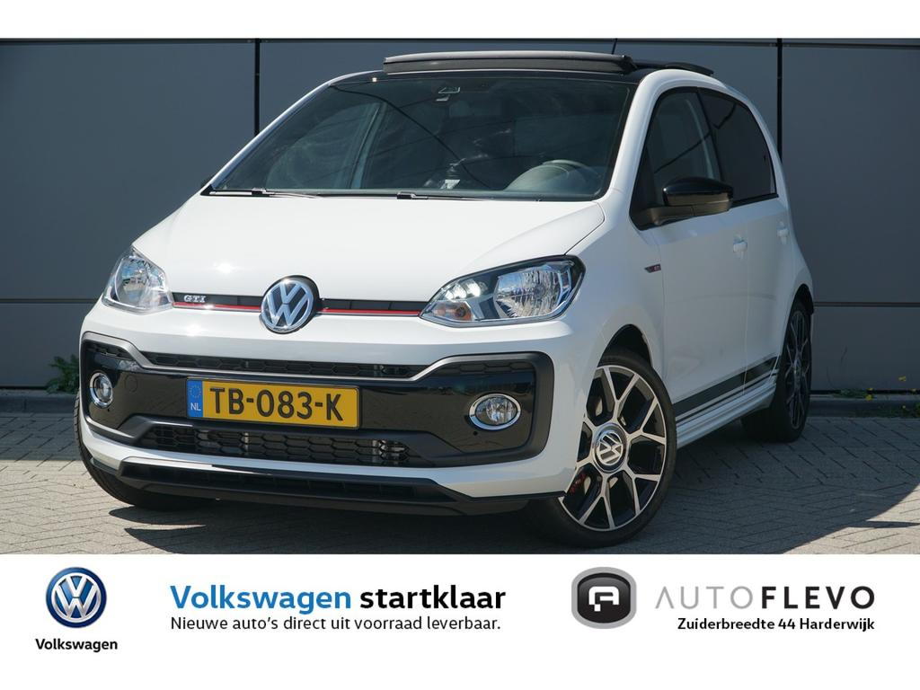 Volkswagen Up! 1.0 115pk tsi gti flevo pack!! / dubbele uitlaat / full led / beats audio / pano / achteruitrijcamera / stoelverwarming / led