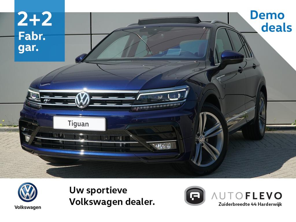 Volkswagen Tiguan 1.4 tsi 125pk highline business r / advance pakket / led+  / area view / trekhaak