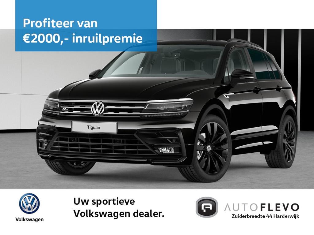 """Volkswagen Tiguan 2.0 tsi 4motion 220pk dsg highline business r / 20"""" lmv / black style / schuifdak / trekhaak"""