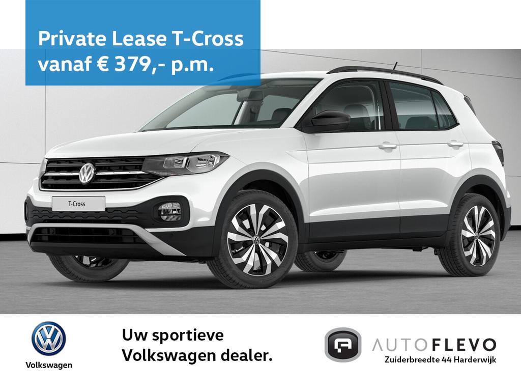 Volkswagen T-cross 1.0 tsi 95pk life / navi / camera / design pakket / drive select