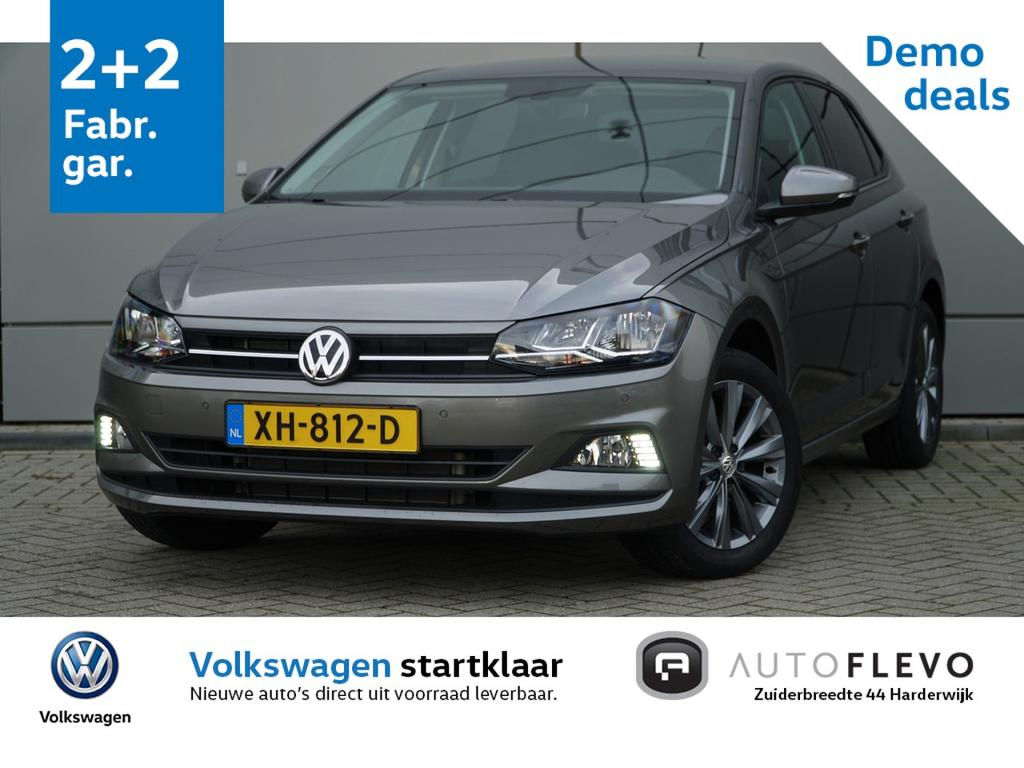 Volkswagen Polo 1.0 tsi 95pk dsg comfortline / automaat / navi / pdc / getint glas
