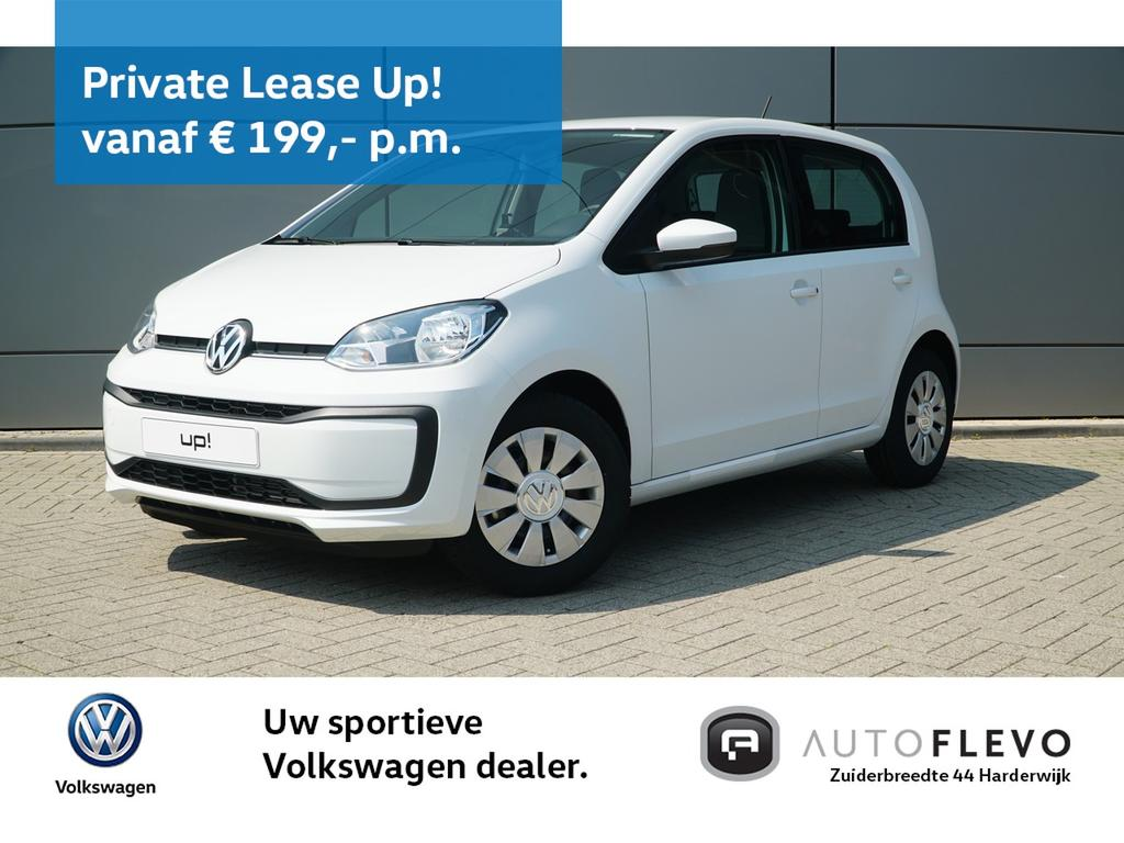 Volkswagen Up! 1.0 bmt 60pk move up! / private lease 48 maanden & 10.000 km per jaar