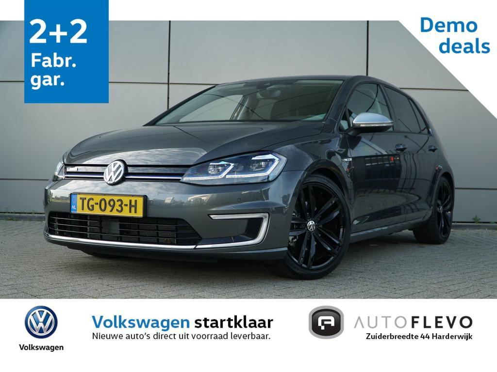 """Volkswagen Golf E-golf / incl. btw / dynaudio / leder / 18"""" lmv / warmtepomp"""