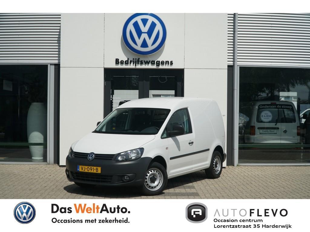 Volkswagen Caddy 1.6 tdi 75pk airco, trekhaak, 1 jr garantie