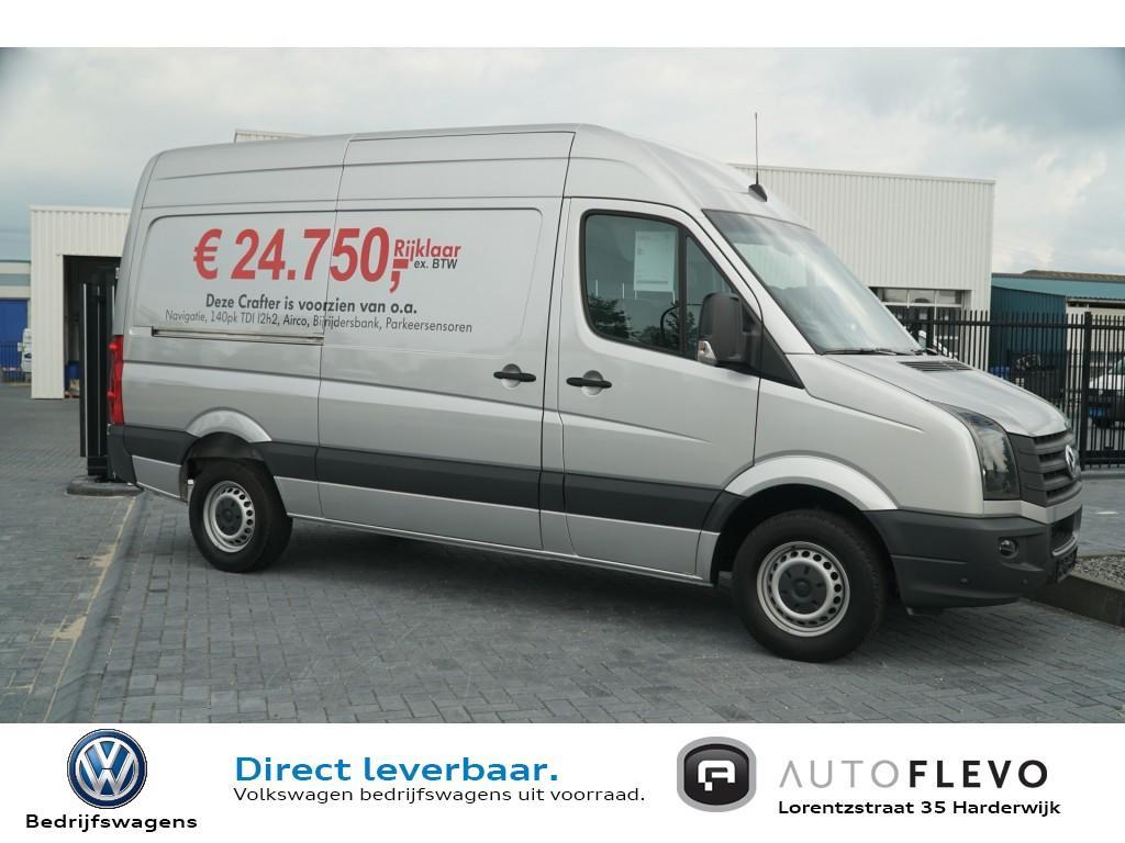 Volkswagen Crafter 35 2.0 tdi l2h2 140pk/voorraad actie € 10.775 korting