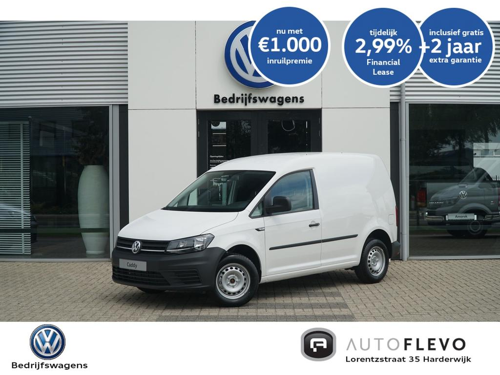 Volkswagen Caddy 2.0tdi 75pk 137,- p/m* economy business/cruisecontr/airco/radio/bluetooth