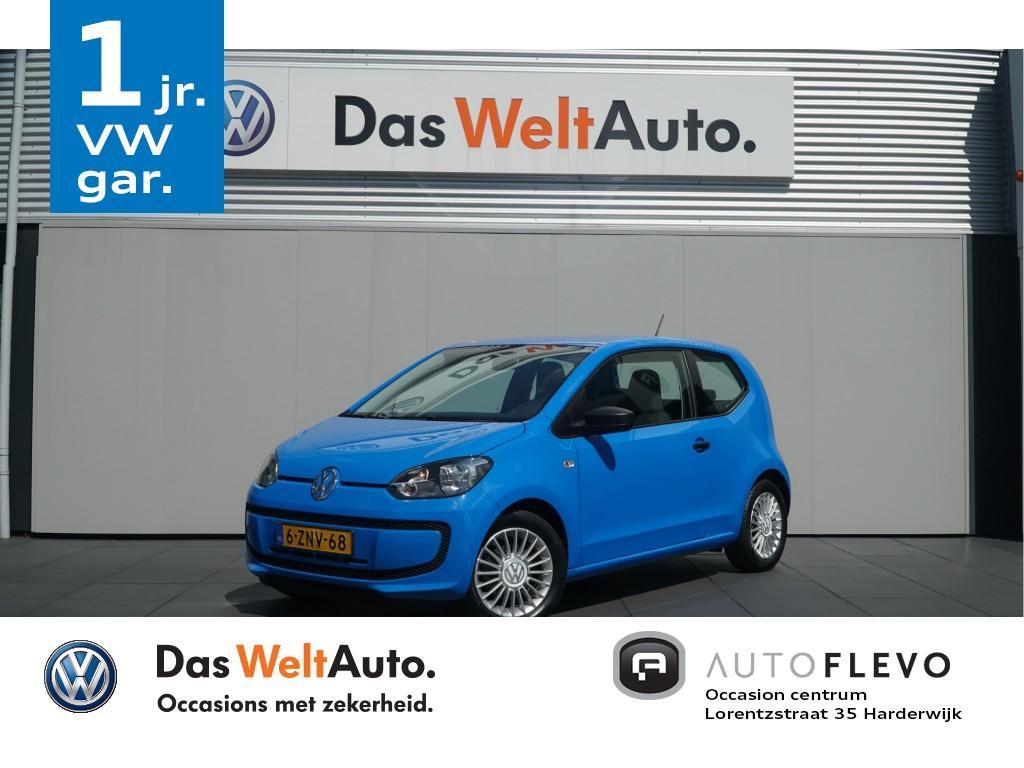 Volkswagen Up! 1.0 take up! bluemotion, airco, lmv! totaal prijs, geen extra kosten.