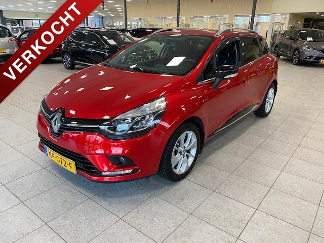 Renault Clio Estate tce 90 pk limited (navigatiesysteem)
