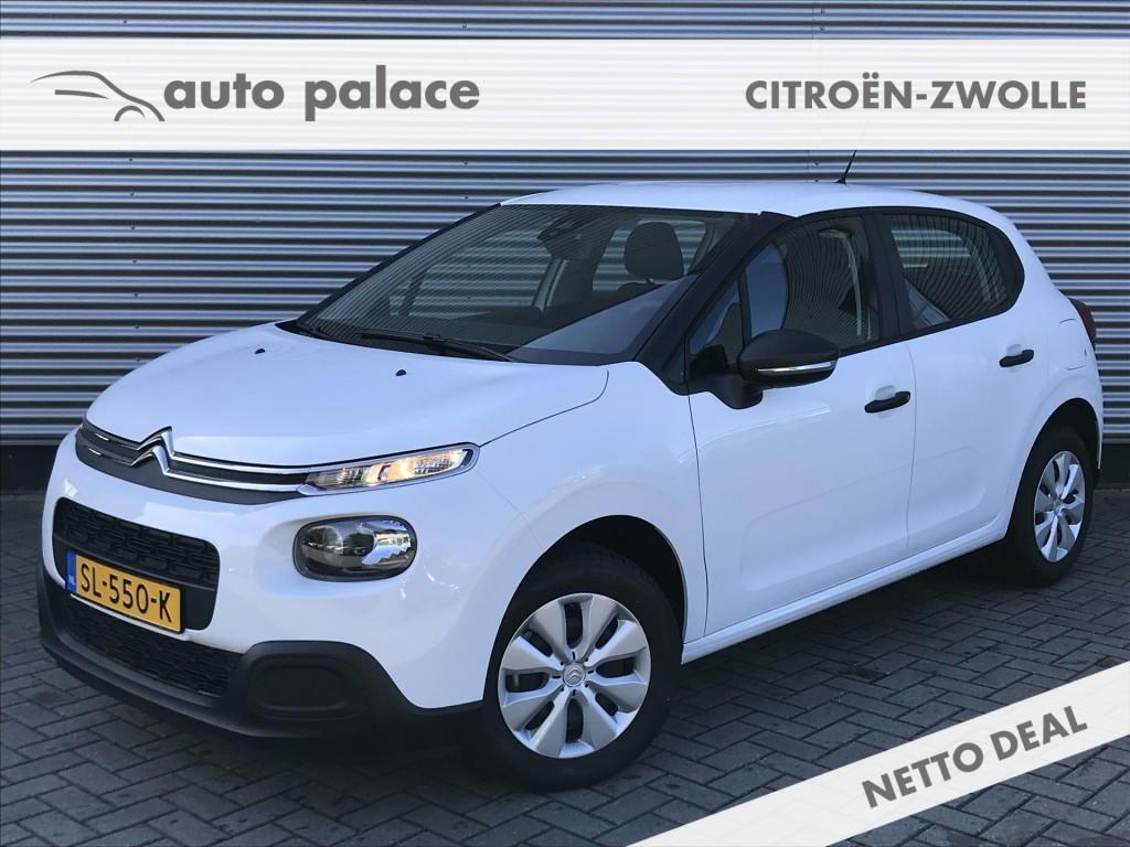 Citroën C3 1.2 puretech 68pk live