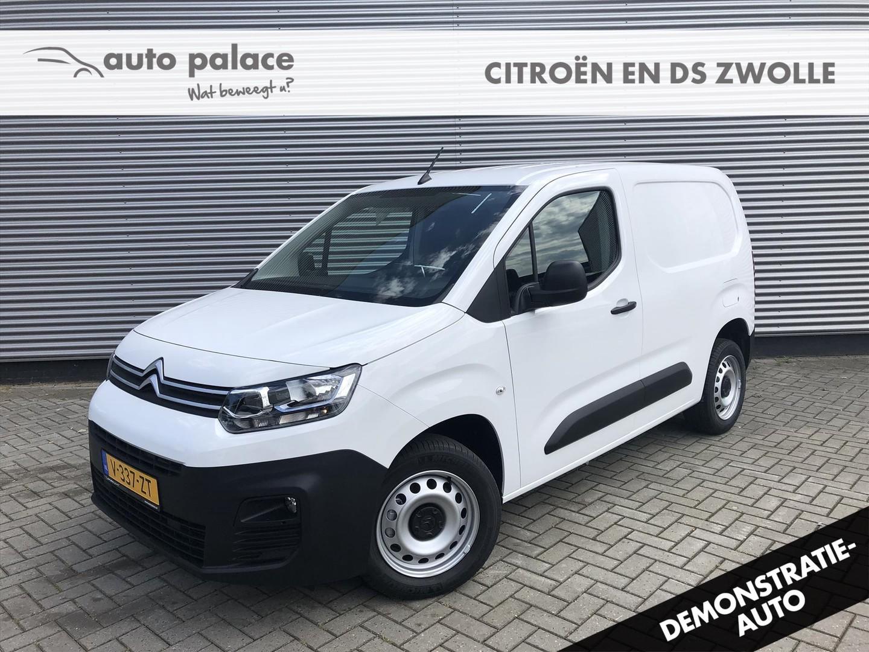 Citroën Berlingo Van 100pk bluehdi nu € 14580 excl btw! 1000kg laadvermogen