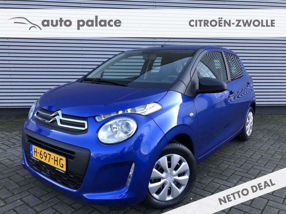 Citroën C1 1.0 vti 72pk 5deurs live airco netto deal