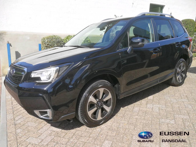 Subaru Forester 2.0 premium bruin leder interieur