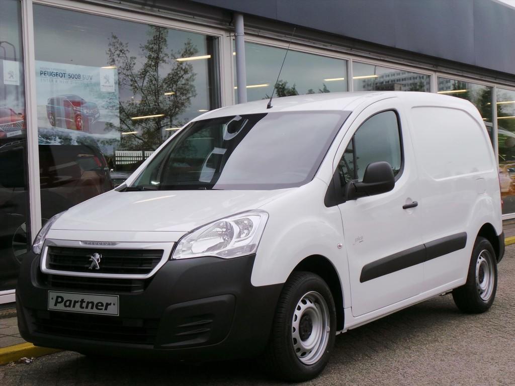 Peugeot Partner Gb 120 l1 1.6 bluehdi 75pk 2-zits profit+ airco/schuifdeur