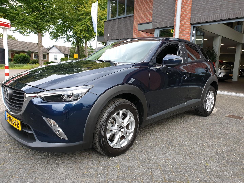 Mazda Cx-3 2.0 skyactiv-g 120 ts+ , navi 1 jaar garantie