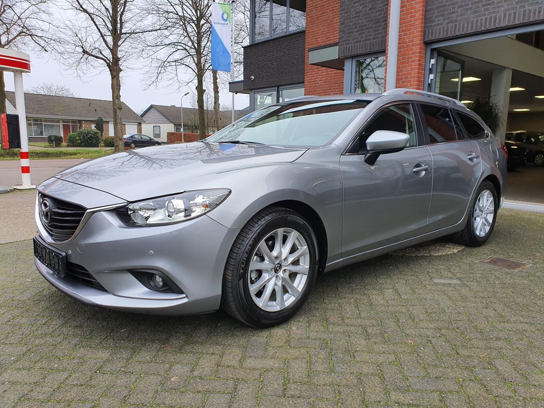 Mazda 6 Sportbreak 2.0 hp ts+ navi, pdc v+a 1 jaar garantie