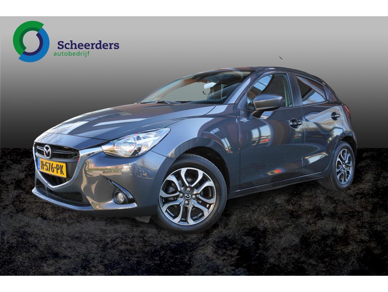 Mazda 2 1.5 skyactiv-g ts+ navi, parkeersensoren