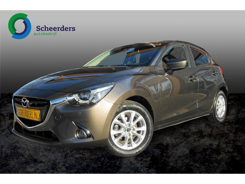 Mazda 2 1.5 skyactiv-g ts+ navi, 1 jaar garantie