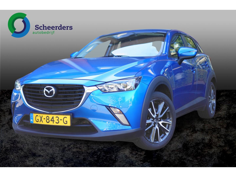 Mazda Cx-3 2.0 skyactiv-g 120 ts , navi 1 jaar garantie