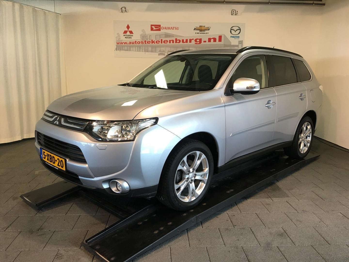 Mitsubishi Outlander 2.0 executive edition, 7per, trekhaak, navi