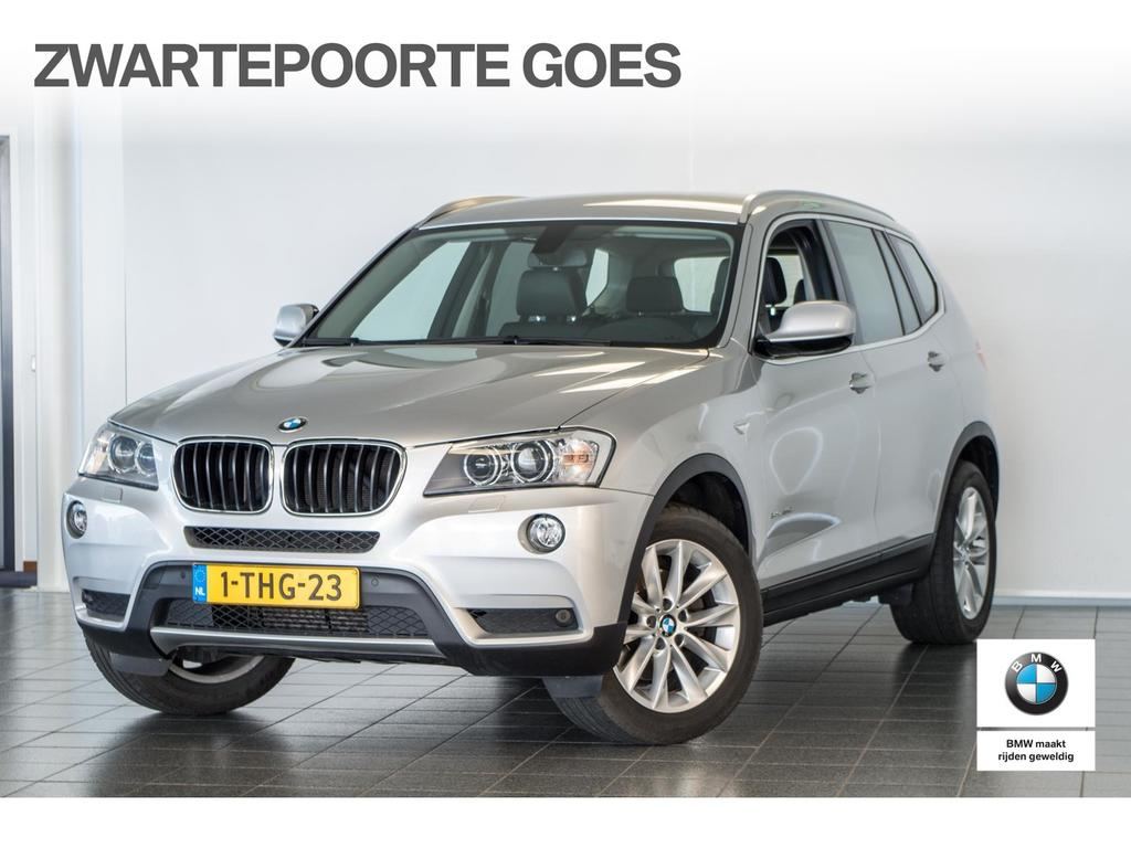 Bmw X3 1.8d sdrive chrome line edition navigatie