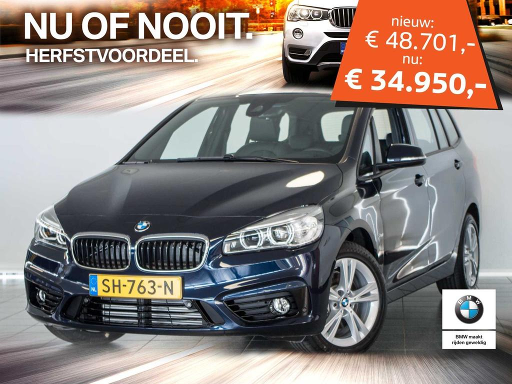 Bmw 2 serie Gran tourer 218i 7p. high executive sportline .