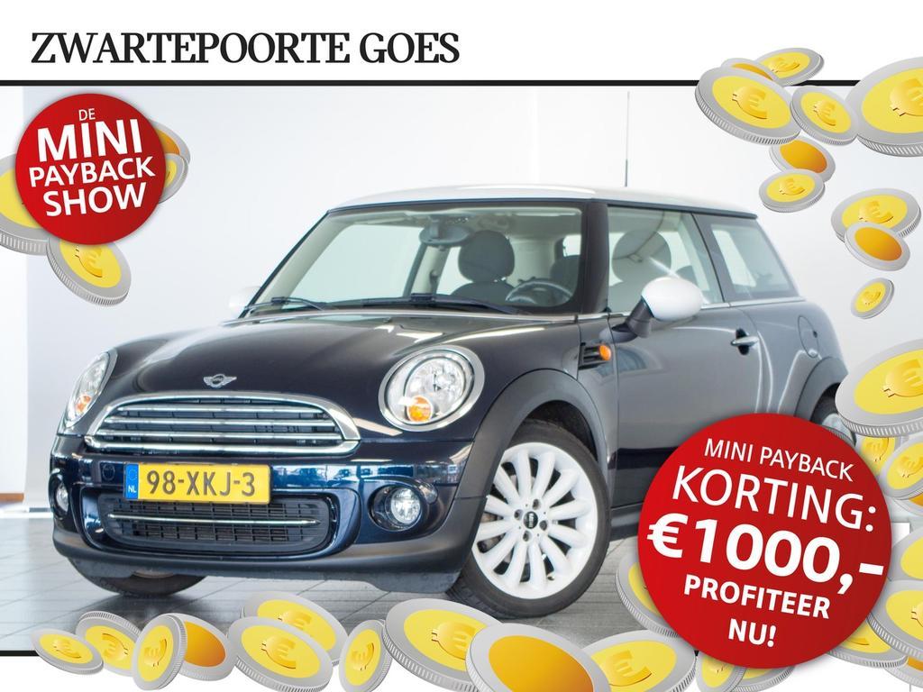 Mini 3-drs 1.6 cooper chili ontvang € 1000,- korting!