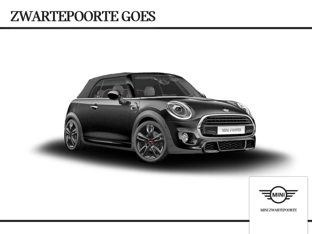 Mini Cabrio 1.5 cooper jcw-trim serious business
