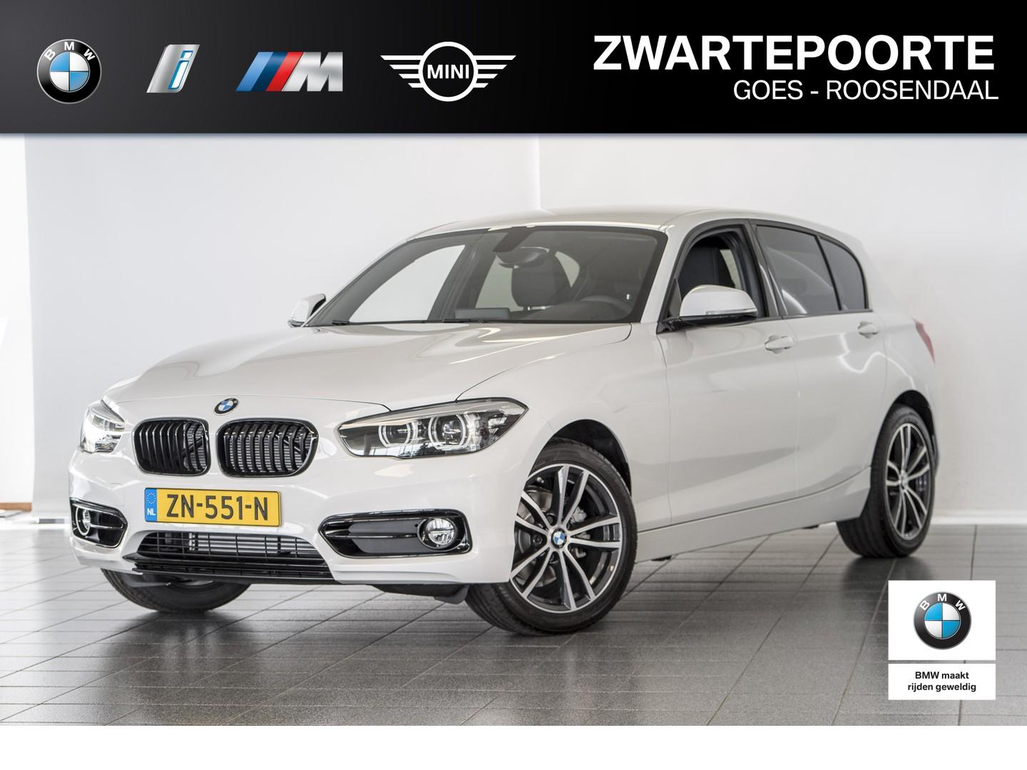 Bmw 1 serie 116i sport line edition apple carplay - sportstoelen + stoelverwarming