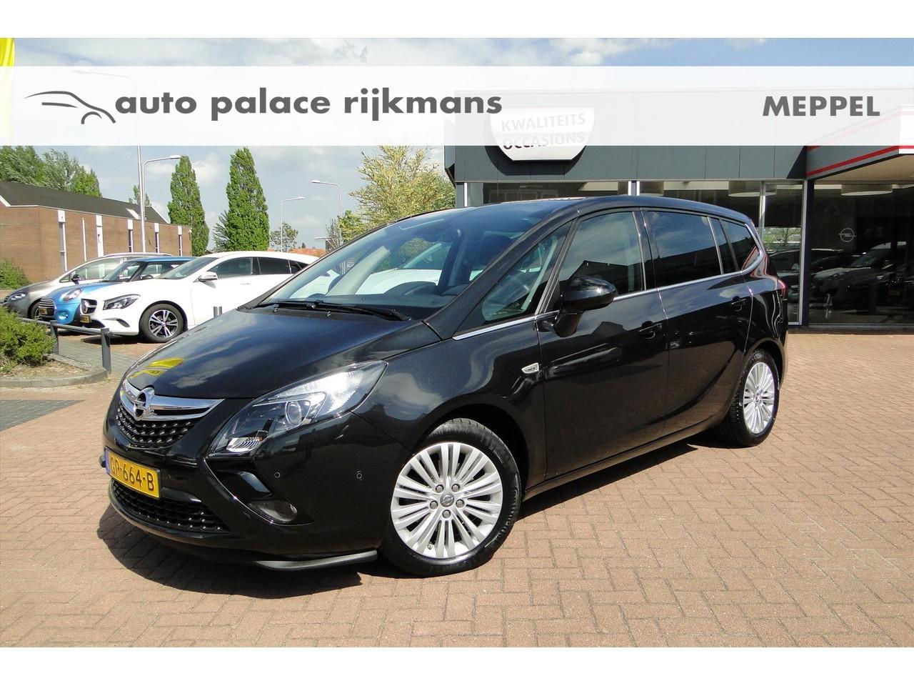 Opel Zafira Tourer 1.4 t 140pk design edition navi/trekhaak/camera/agr stoelen