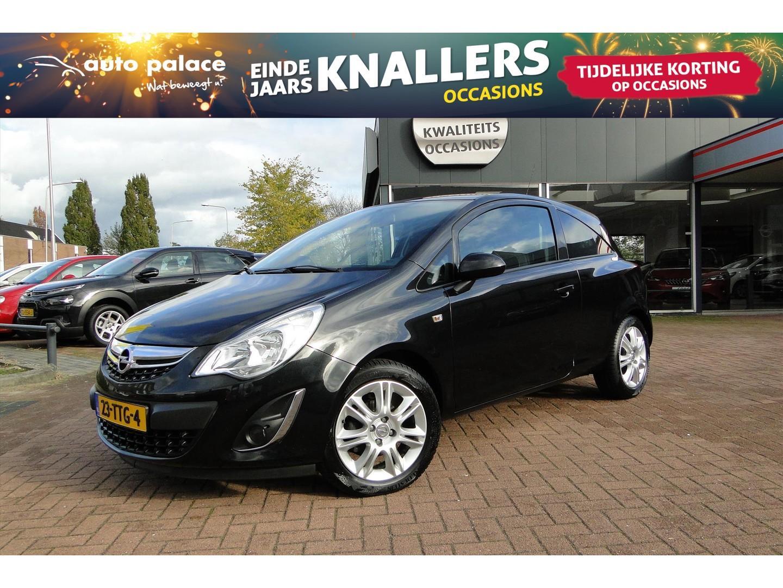 Opel Corsa 1.2 bi-fuel (lpg) 83pk 3d color edition navi/cruise control