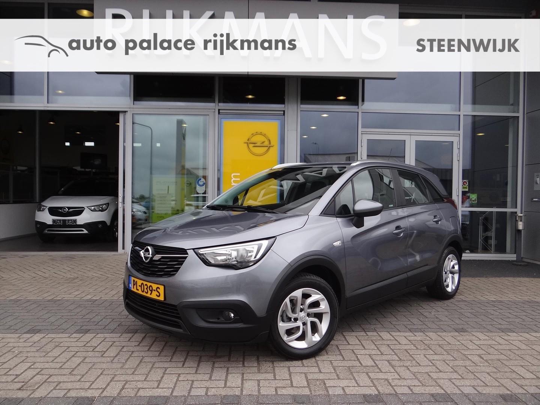 Opel Crossland x Online ed. 1.2 81 pk - navi - edition + pakket - compleet