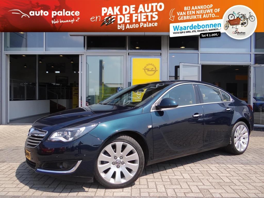Opel Insignia Cosmo 1.6t 170 pk automaat - 4drs - leer - navi - zeer compleet