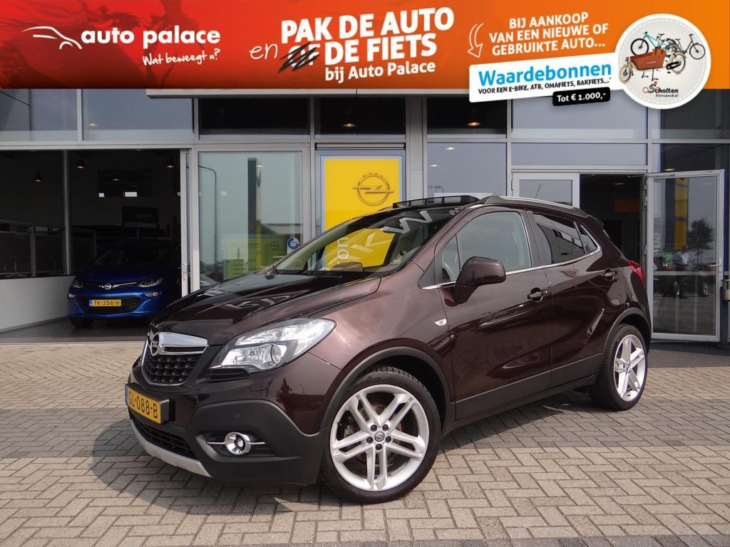 "Opel Mokka Cosmo 1.4t 140 pk - leer - xenon - schuifdak - 19"" lmv"