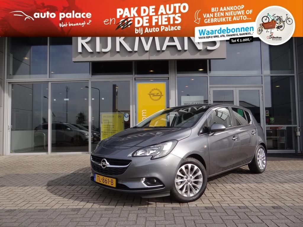 Opel Corsa Online ed. 5drs 1.0t 90 pk - navi - camera - pdc - zeer compleet