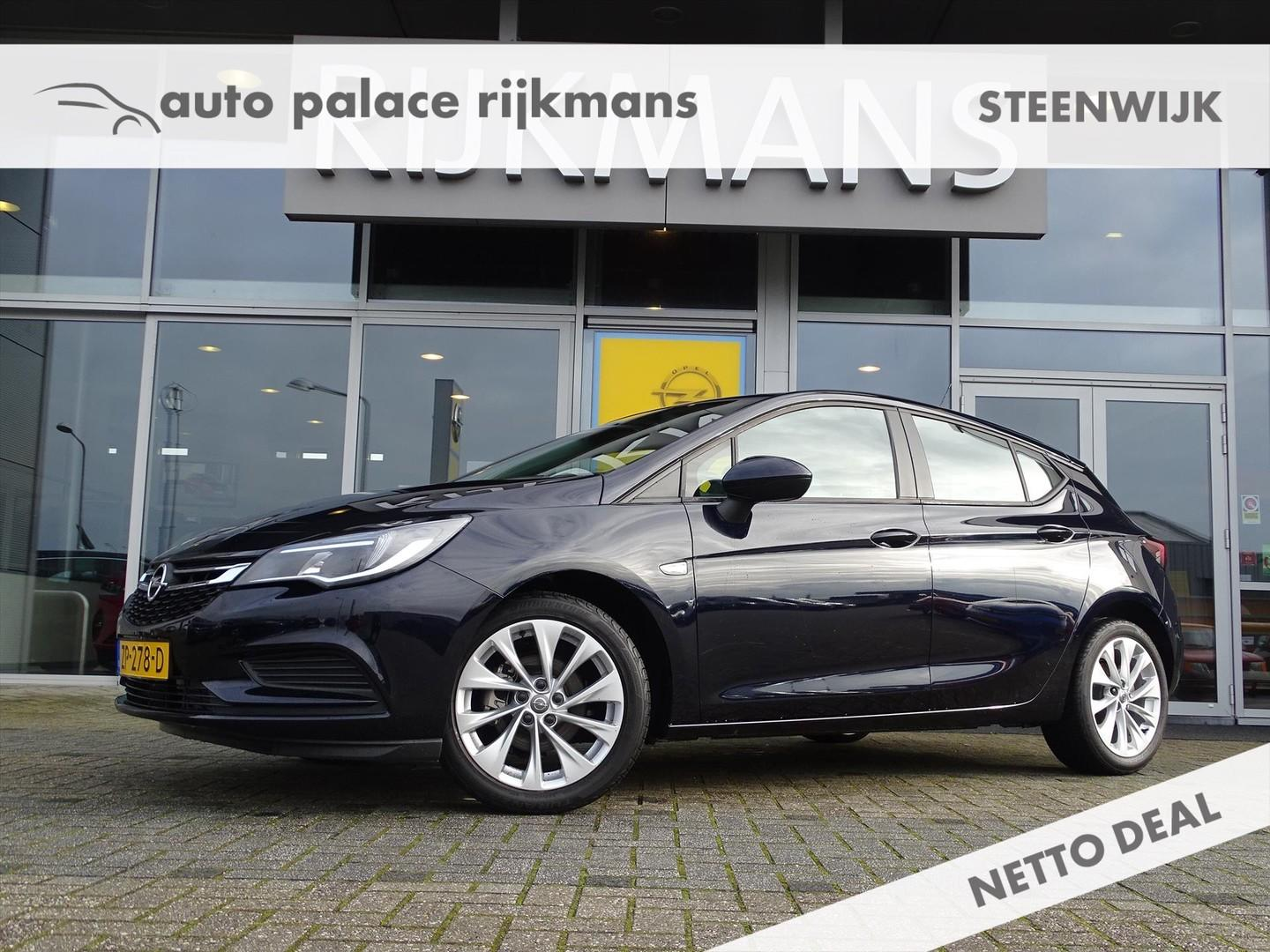 Opel Astra Online ed. 1.0t 105 pk - 5drs - airco - 17 inch lmv - cruise - zuinig