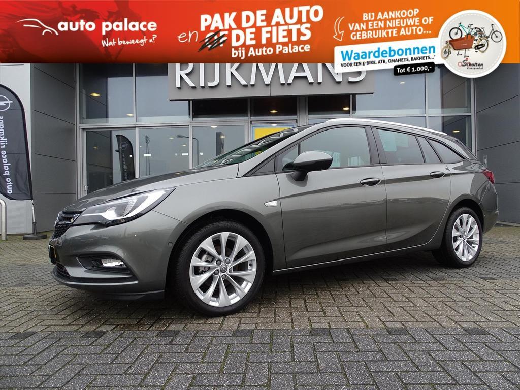 "Opel Astra Innovation 1.4t 150 pk sportstourer - schuifdak - 17"" - navi"