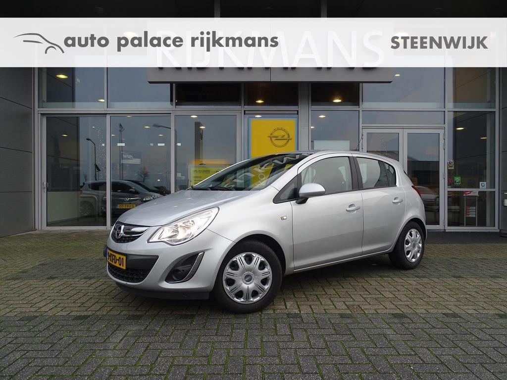 Opel Corsa Edition 1.4 100 pk 5drs - winterpack - airco - lm velg - cruise