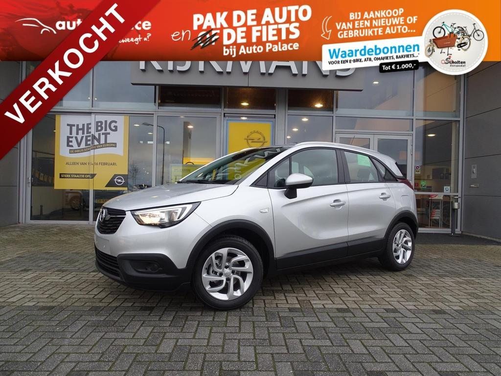 Opel Crossland x Online edition 1.2 82 pk - edition+ pack - airco - cruise -