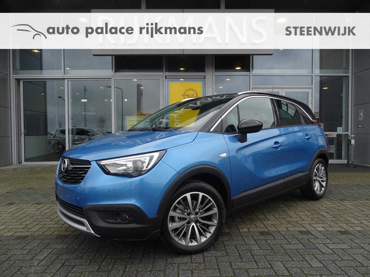 "Opel Crossland Innovation 1.2t 110 pk - agr - navi - 17"" lm - convenience pack"