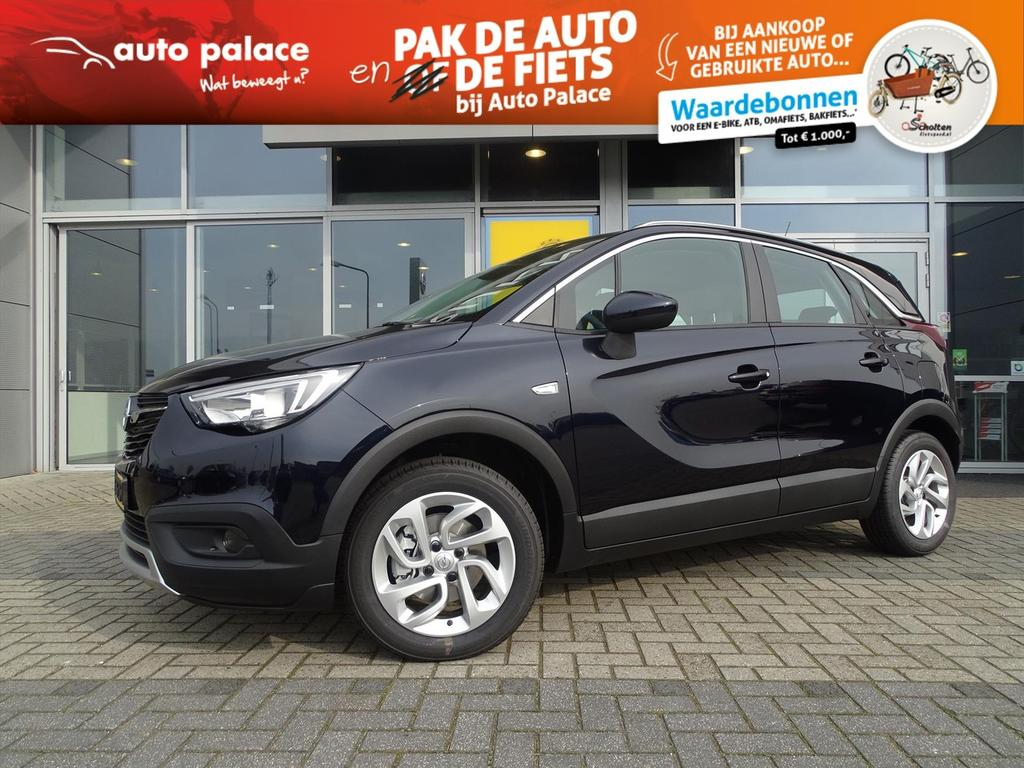 Opel Crossland x Innovation 1.2t 110 pk - navi - lm velg - parkeersensor - clima