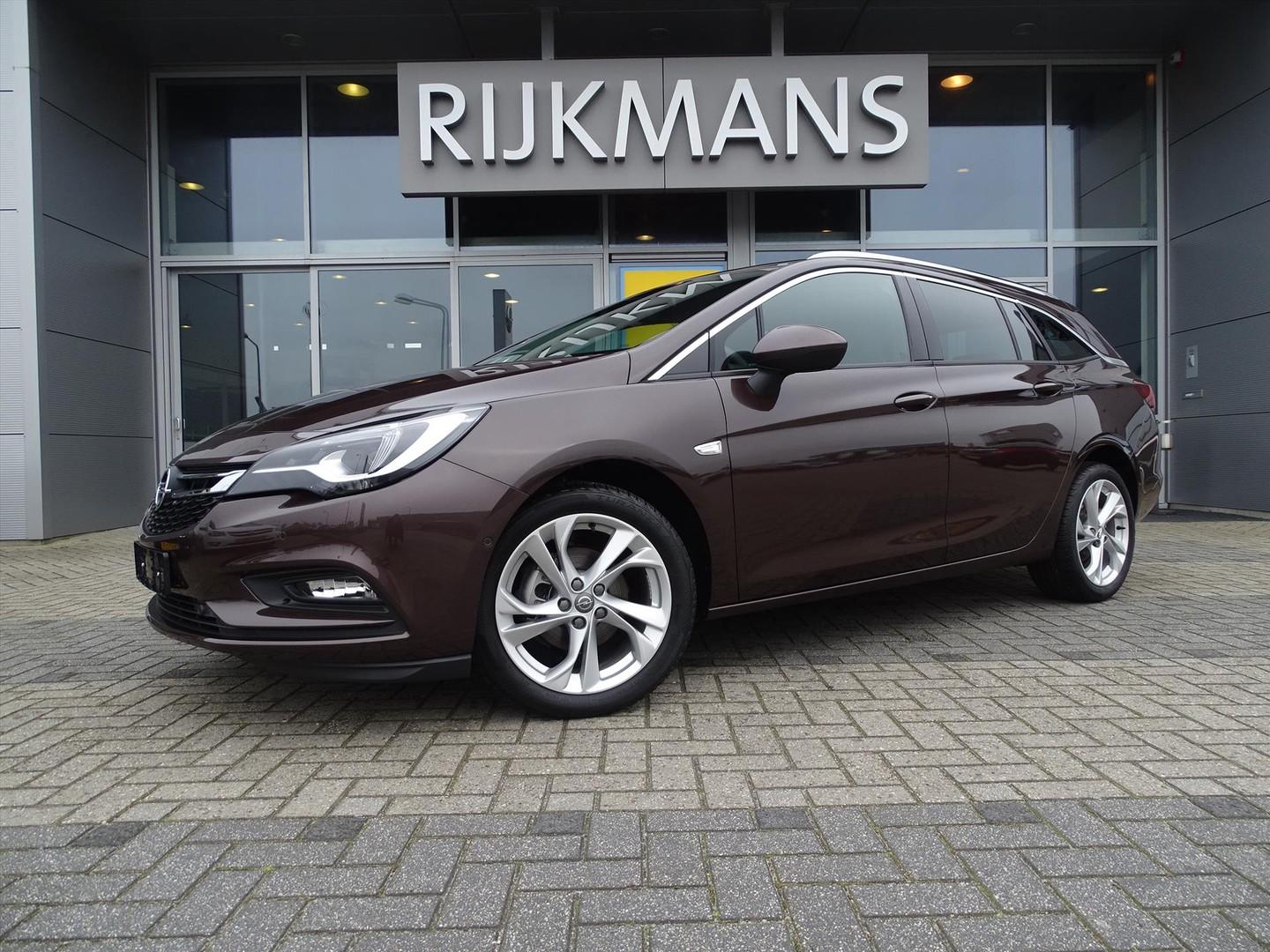 "Opel Astra Sports tourer innovation 1.0 105 pk - intellilux - navi - 17"" - dark caramel"