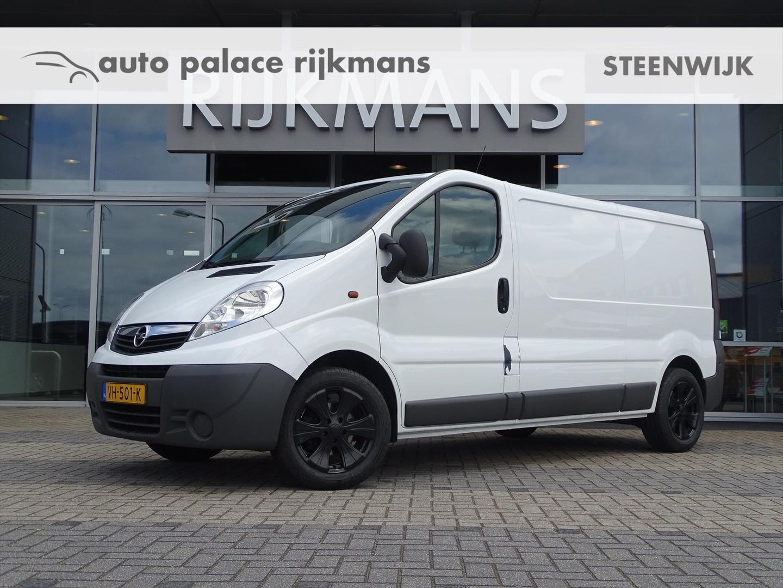 Opel Vivaro L2h1 2.0 90 pk 2900 - navi - trekhaak - cruise - lichtmetaal