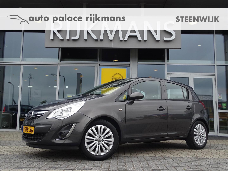 Opel Corsa Design edition 1.4 100 pk - 5drs - airco - lm - trekhaak