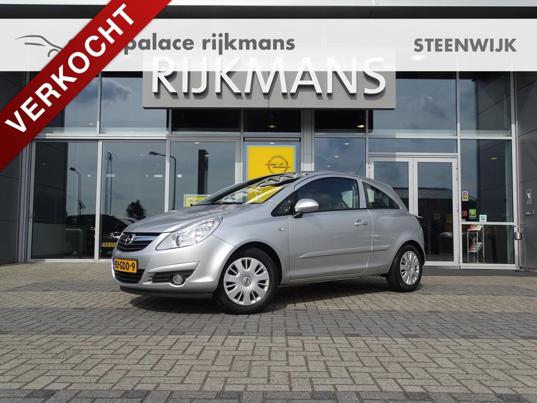 Opel Corsa Enjoy 1.2 80 pk 3drs - airco - cruise - 100% dealeronderhouden