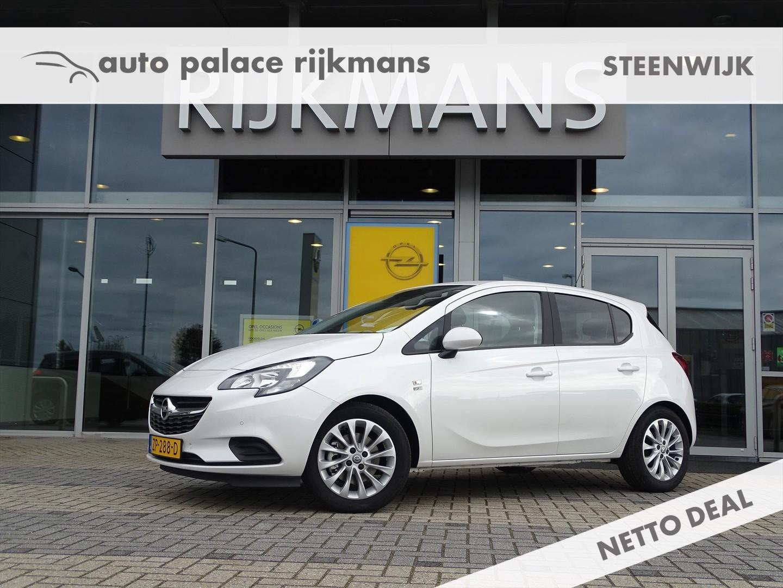 Opel Corsa 120 jaar ed. 1.0t 90 pk - 5drs - parelmoerwit - navi - clima -
