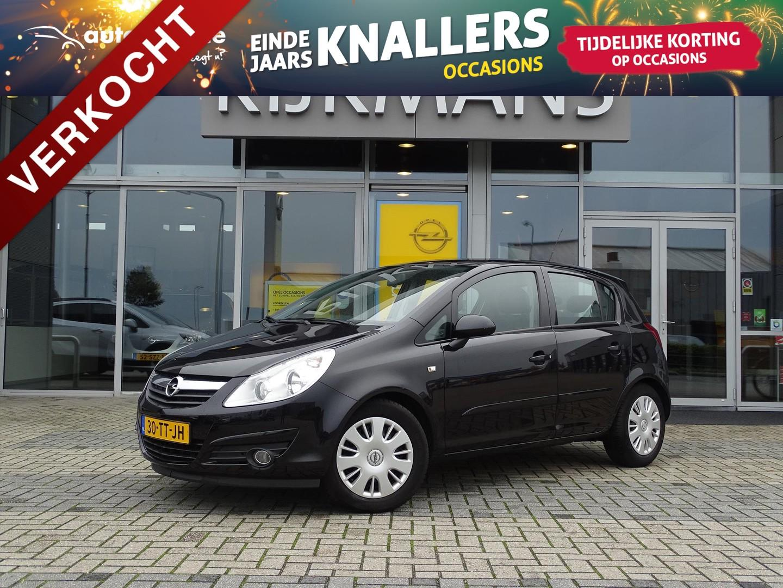 Opel Corsa Enjoy 1.4 90 pk - 5drs - airco - trekhaak - cruise control